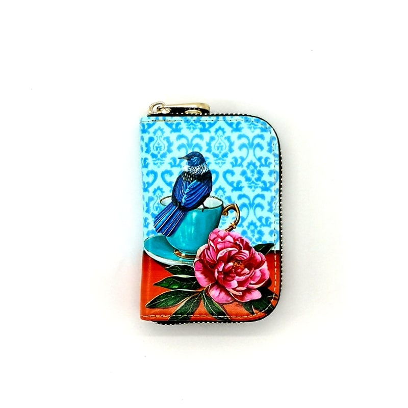 Card Holder Purse - Tui - Rosie's Gifts and Homeware - Gift Shop NZ