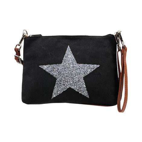 Sassy Duck Star Power Wristlet Bag - Black - Rosie's Gifts and Homeware