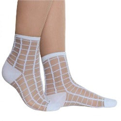 Socks - White/Daisy - Rosie's Gift Shop and Homeware - Womens Fashion