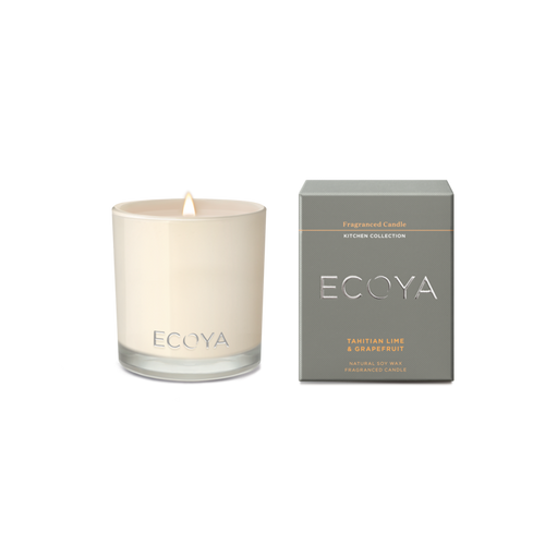 Ecoya Maisy Jar Kitchen Candle - Tahitian Lime & Grapefruit -  Rosie's Gifts and Homeware