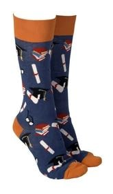 Sock Society - Socks - Graduation Blue - Rosies gifts and homeware