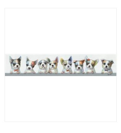 Canvas - Great Eight - Dogs - Rosie's Gifts and Homeware - Gift Shop NZ