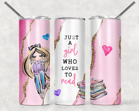 Just A Reading  Wrap For Sublimation Tumbler-138