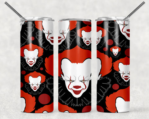 Clown Wrap For Sublimation Tumbler-165