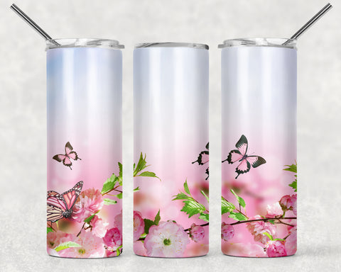 Butterfly Wrap For Sublimation Tumbler-18