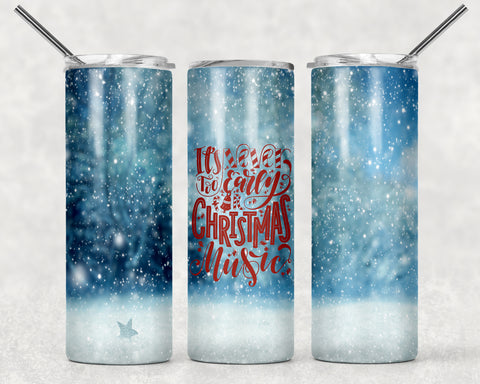 Christmas Music Wrap For Sublimation Tumbler-285