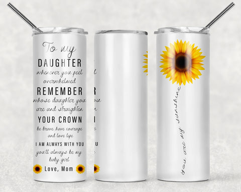 Daughter Wrap For Sublimation Tumbler-292