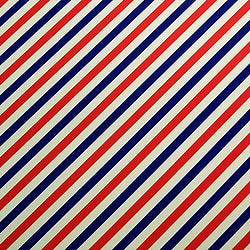 4th of July - Diagonal Stripes
