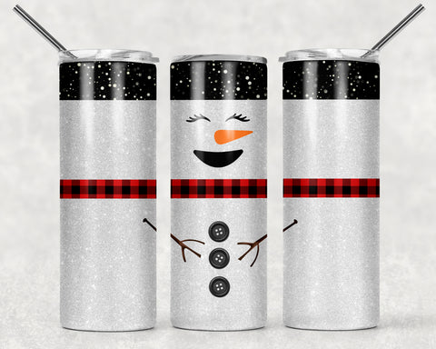 Snowman Wrap For Sublimation Tumbler-9