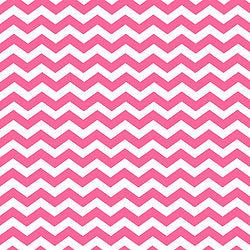 Chevron - Pink & White