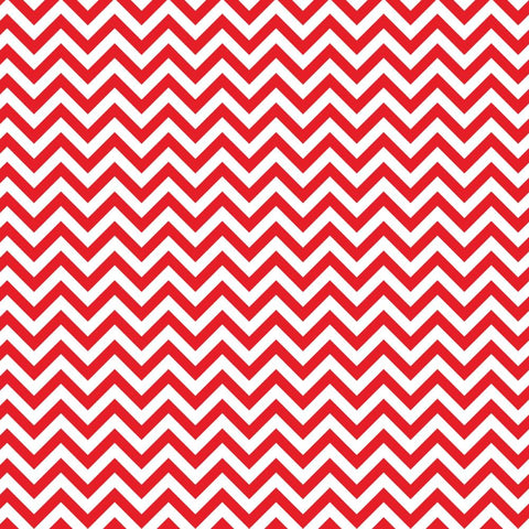 Chevron - Red & White