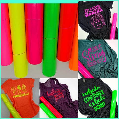 Fluorescent HTV Bundle