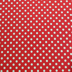 Polka Dots - Red & White