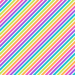 Stripes - Diagonal Rainbow