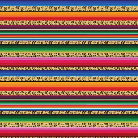 Serape with leopard