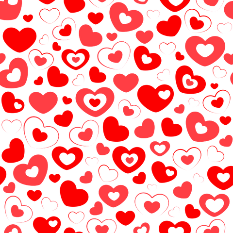 Valentine's - Red Hearts 1
