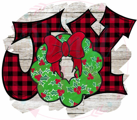 Joy Wreath-H91