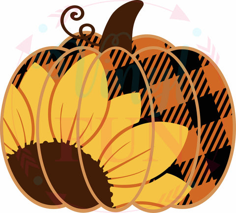 Sunflower Pumpkin-H47
