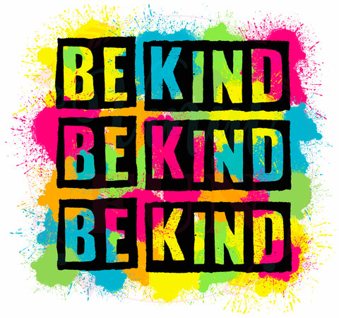 Be Kind Colorful-3