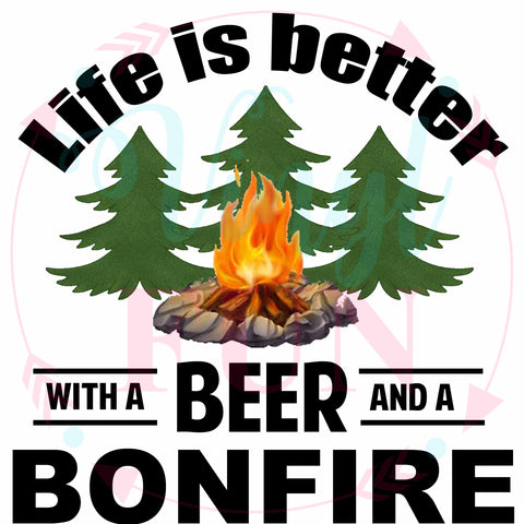 Beer And Bonfire-Digital Download