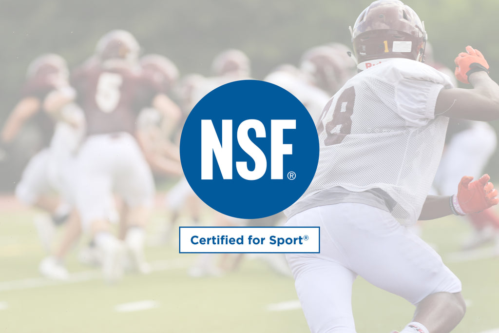 What does it mean to be NSF Certified for Sport?