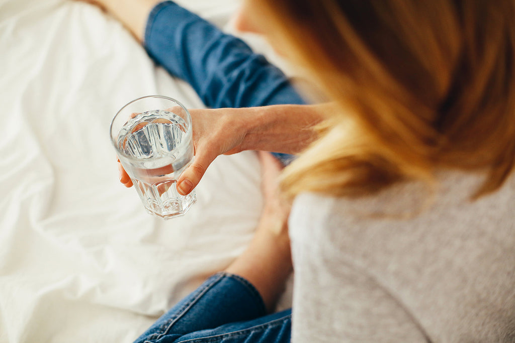 Why You Get Thirsty Before Going to Bed