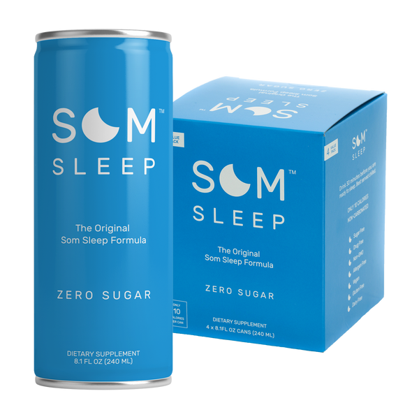 Som Sleep Zero Sugar 4 Pack