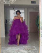 Load and play video in Gallery viewer, Orchid Dress in Purple