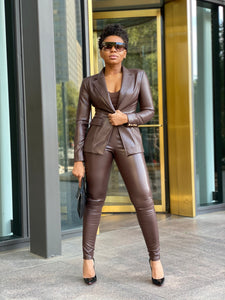 """Chocolate is the New Black"" Blazer"