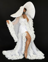 Load image into Gallery viewer, Polka dot Tulle Robe