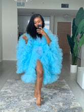 Load image into Gallery viewer, Custom made mini Tulle Robe