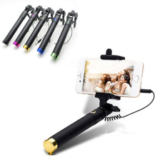 Premium Mini Selfie Stick for Iphone and Samsung Android Smartphones