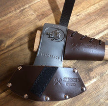 DISCOUNTED Leather Razorback Hatchet handle protector.