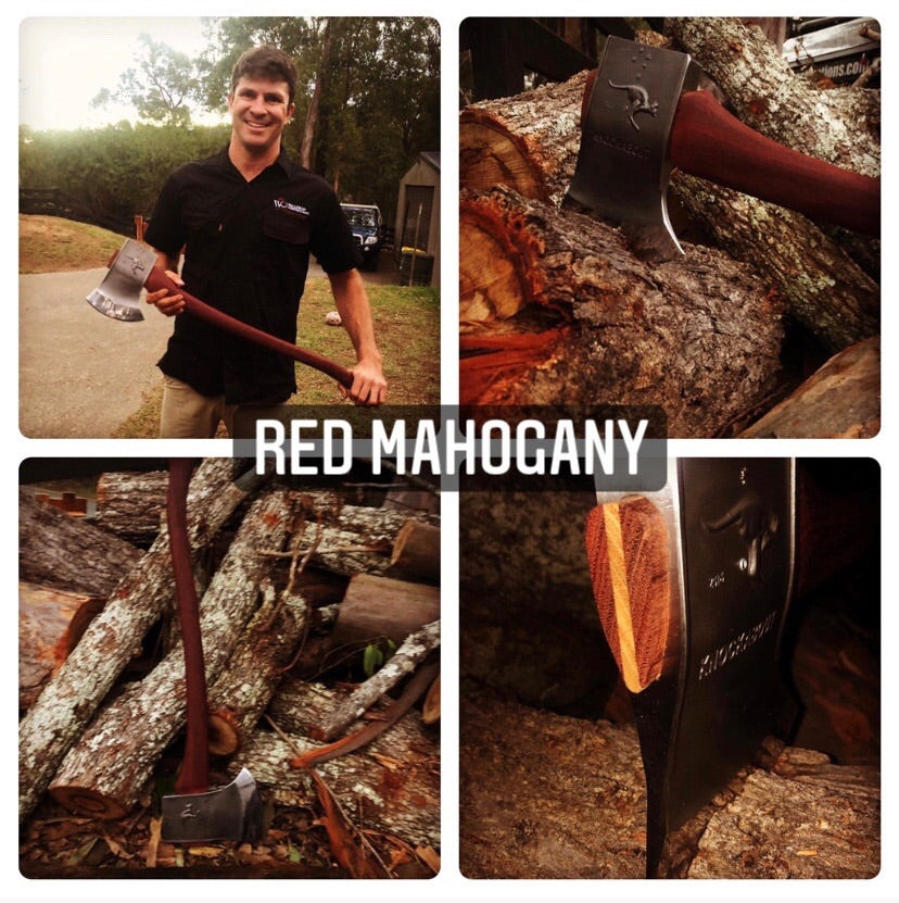 Knockabout Axe with Red Mahogany handle  2.1kg.  Sold out