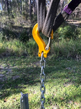 Star Picket Extractor Y jaw Chain Coupling and Sling Hook Set Up