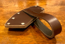 Razorback Hatchet Leather Cover - Brown or Natural leather available++Orders will be processed 18/1/19++