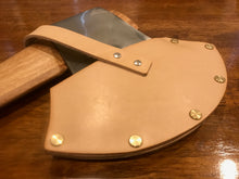 Knockabout Axe / Race Axe Natural Leather Cover Sheath