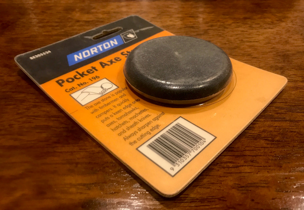 Axe Sharpening Stone Pocket Size Puck