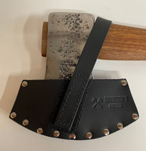 SOLD.  2 3/4 lb Reconditioned Axe including leather cover