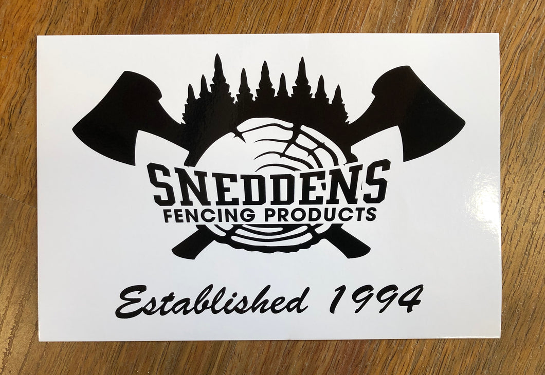 Snedden's Fencing Products Stickers