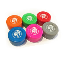 6 Non-Stick Silicone Wax Jars (Assorted Colors)