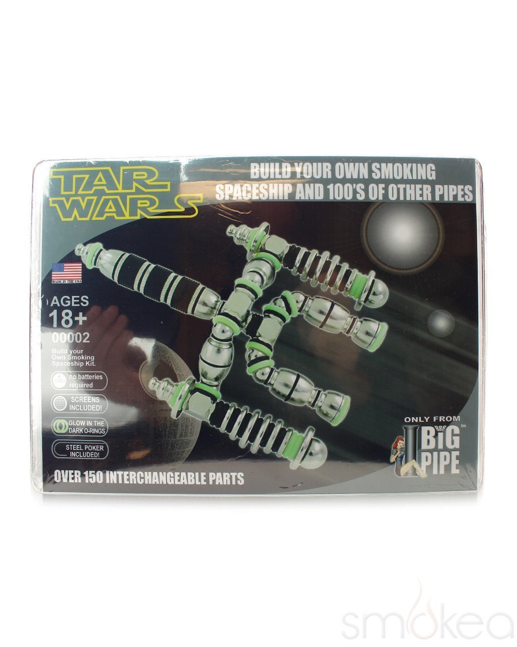 Tar Wars Metal Pipe Super Kit