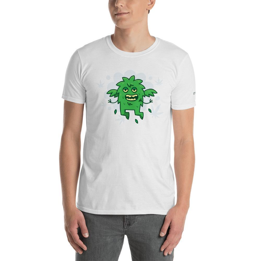 SMOKEA Weed Monster Short-Sleeve Unisex T-Shirt