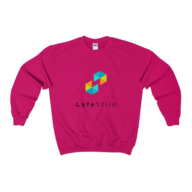 Heavy Blend™ LyfeStile Adult Crewneck Sweatshirt