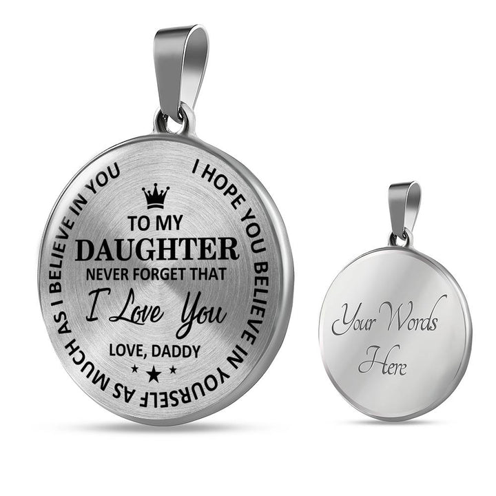 Daddy To Daughter - Believe In Yourself