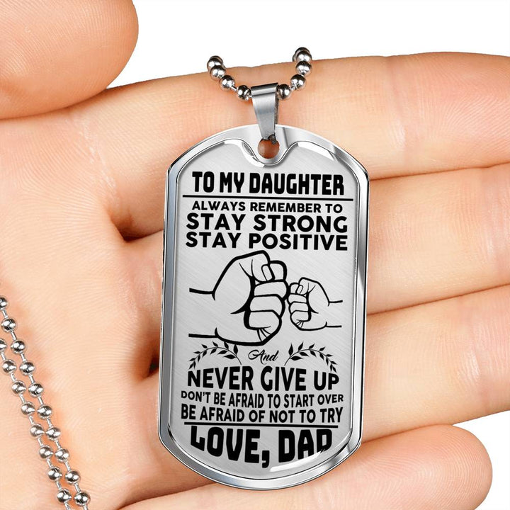Dad To Daughter - Stay Strong