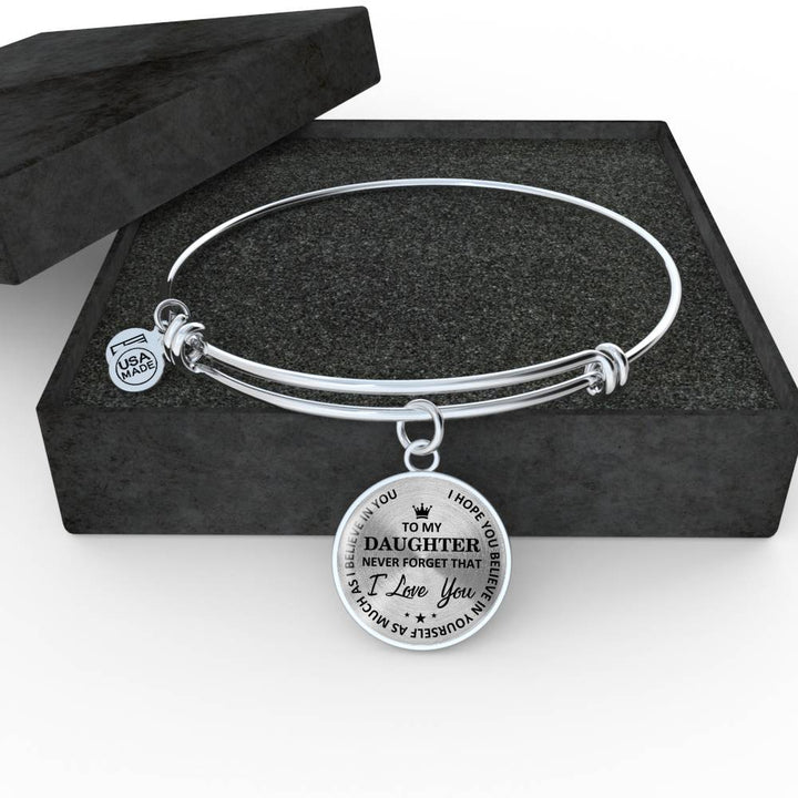 To My Daughter - Believe In Yourself Necklace