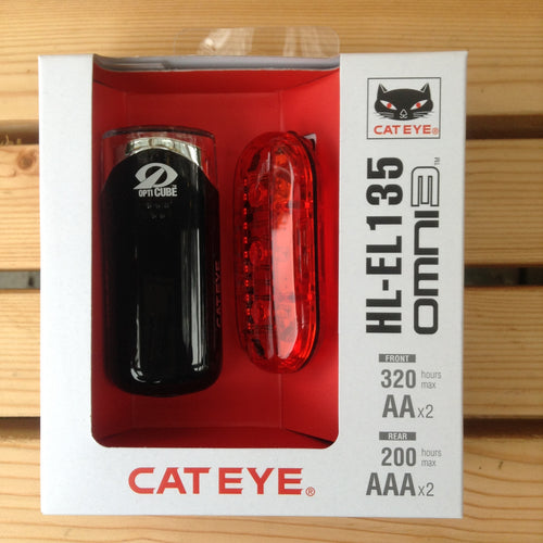 Cat Eye Bike light set