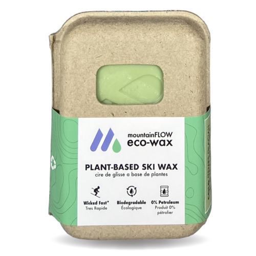 Biodegradable Iron-On Ski Wax