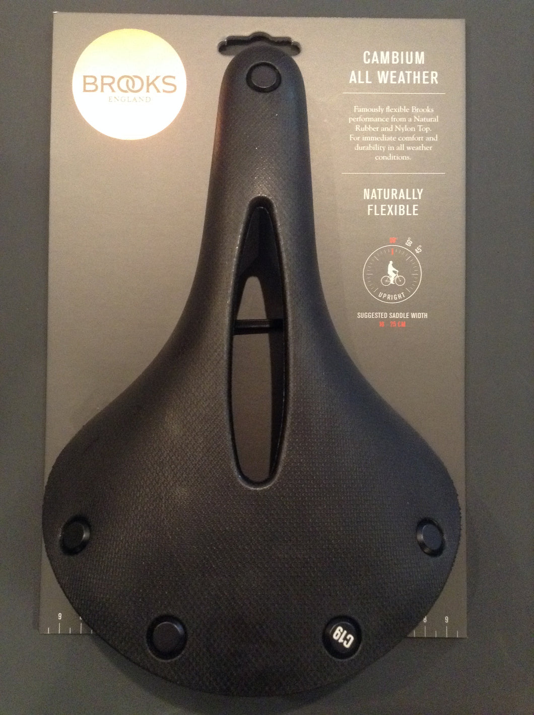 Cambium All Weather Bike Seat